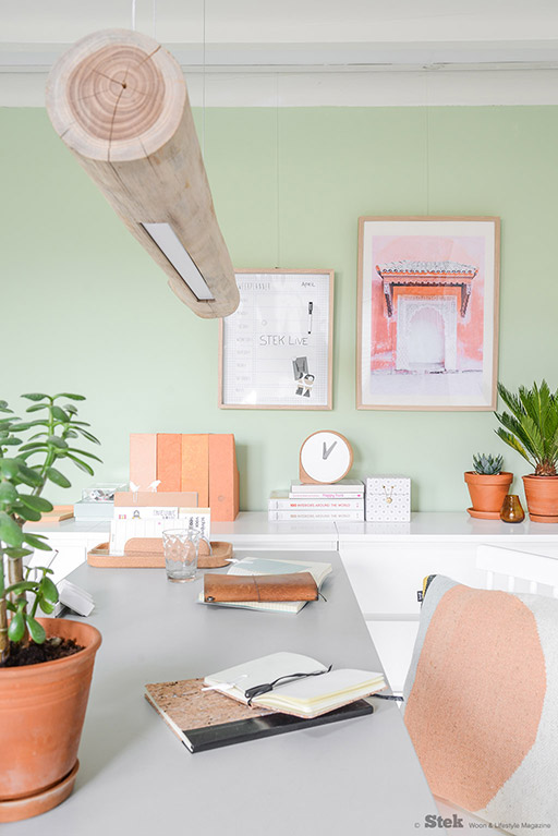 Bureau decoratie | Stek Magazine