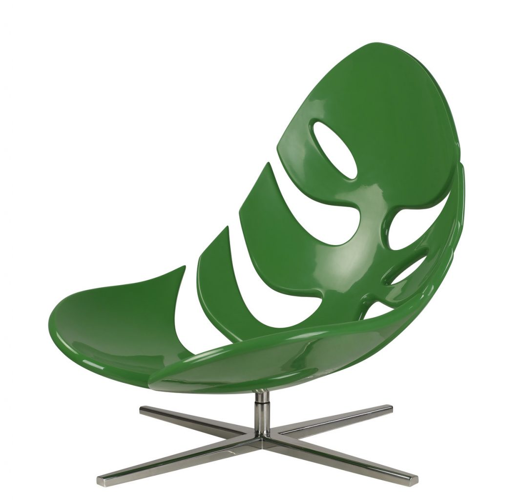 Botanische woontrend | Monstera chair Philip Ahlstrom | Stek Magazine