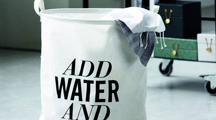 original add water and soap laundry basket