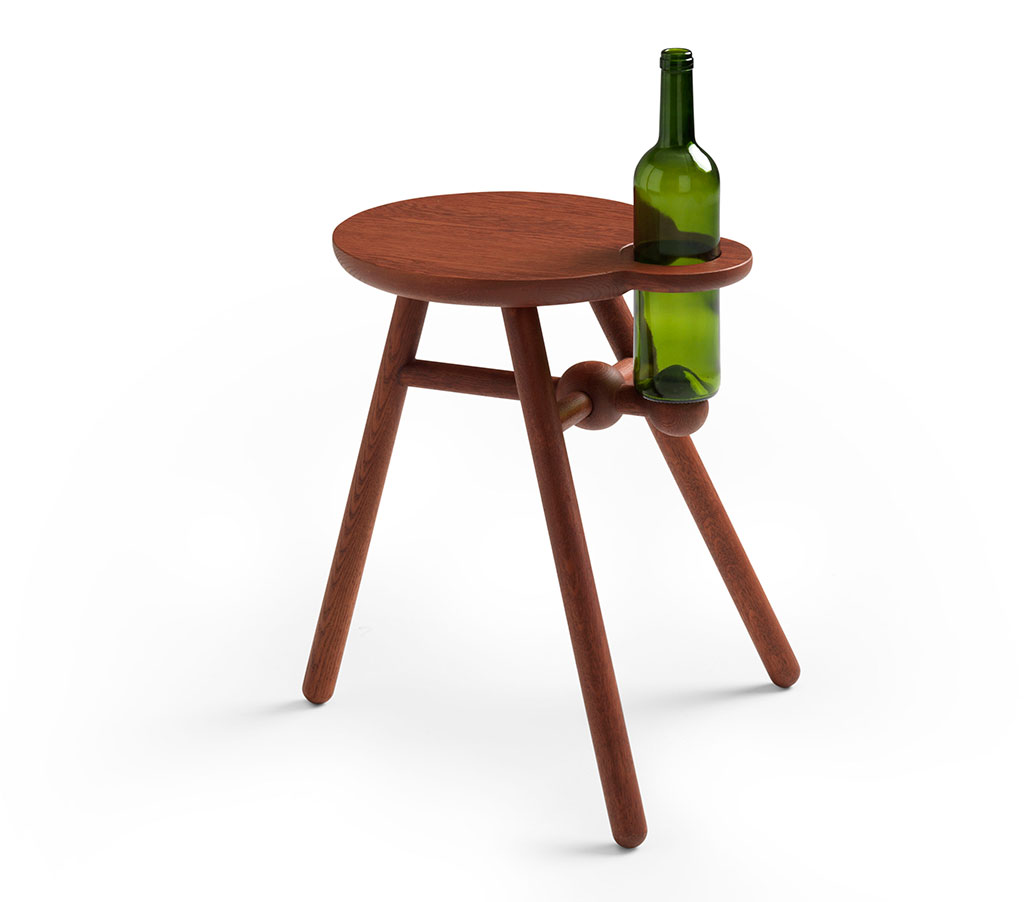 Pode-Bottlestool