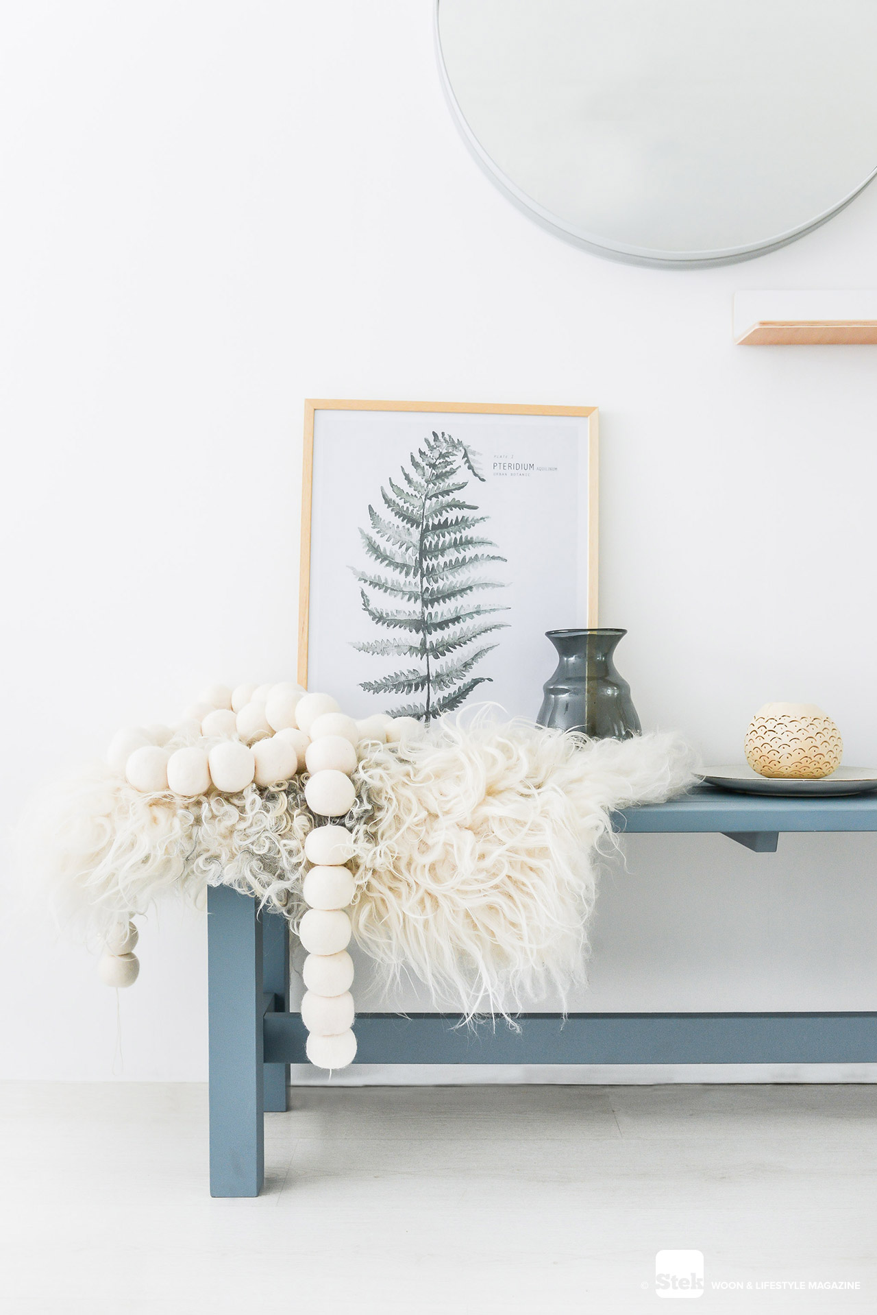 Denim drift dreams | Slaapkamer styling | Stek Magazine
