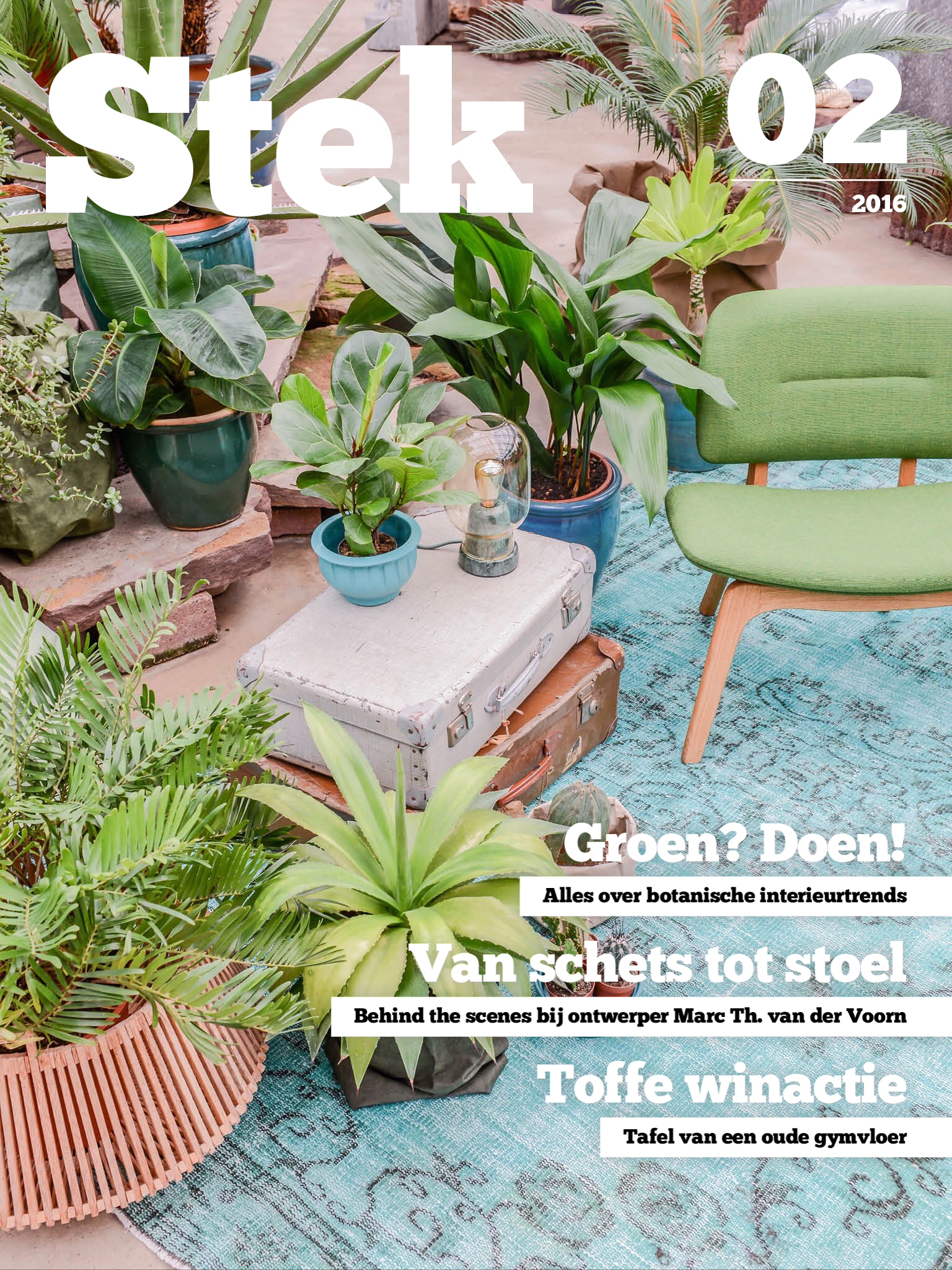 Coverbeelden Stek Magazine