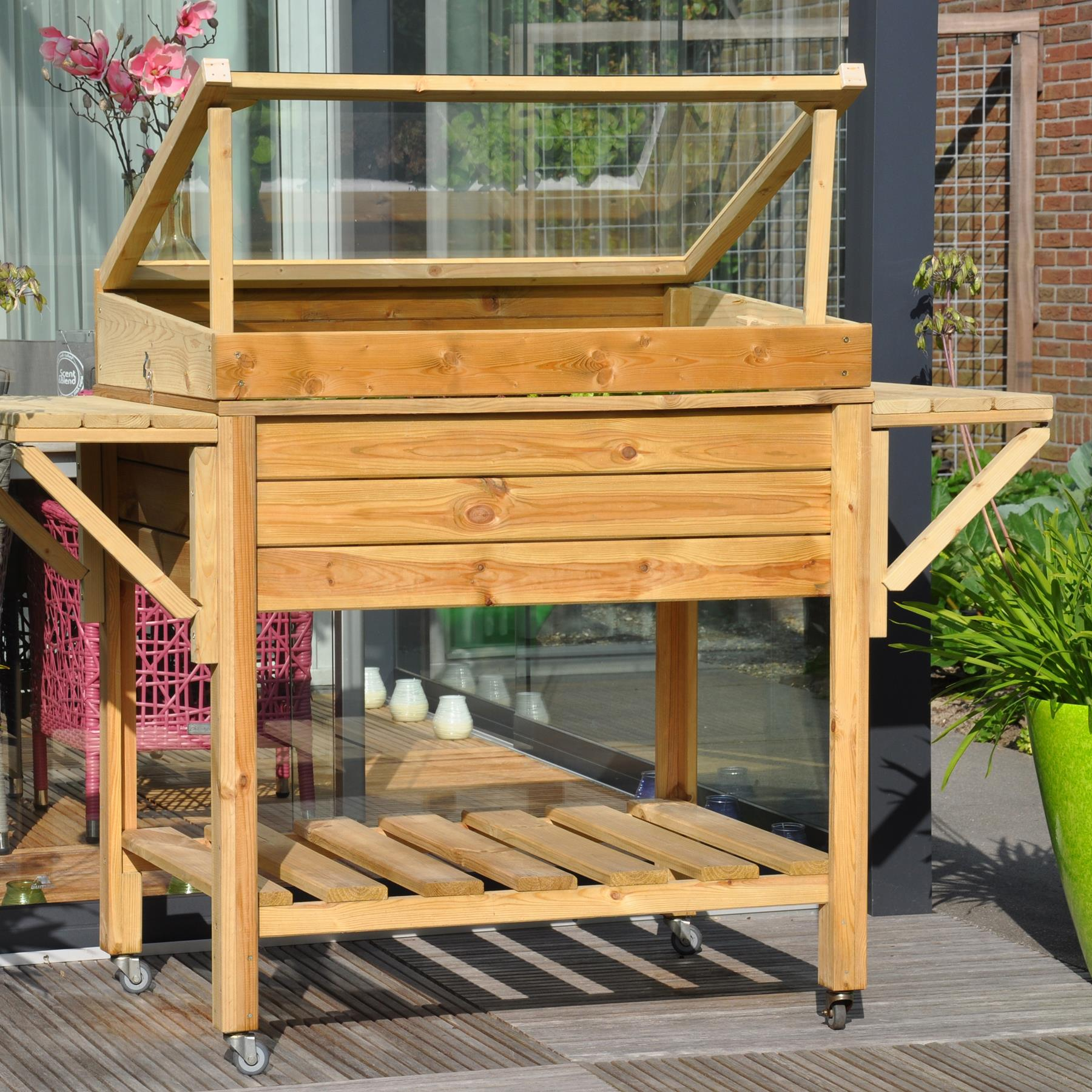 Kassen voor in de tuin | Royal Wheels | Stek Magazine