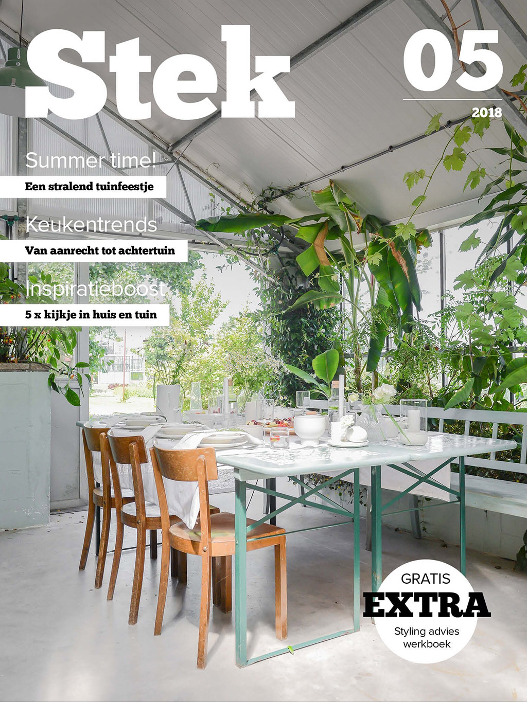 Keukentrends | Tafel Styling | Stek Magazine cover