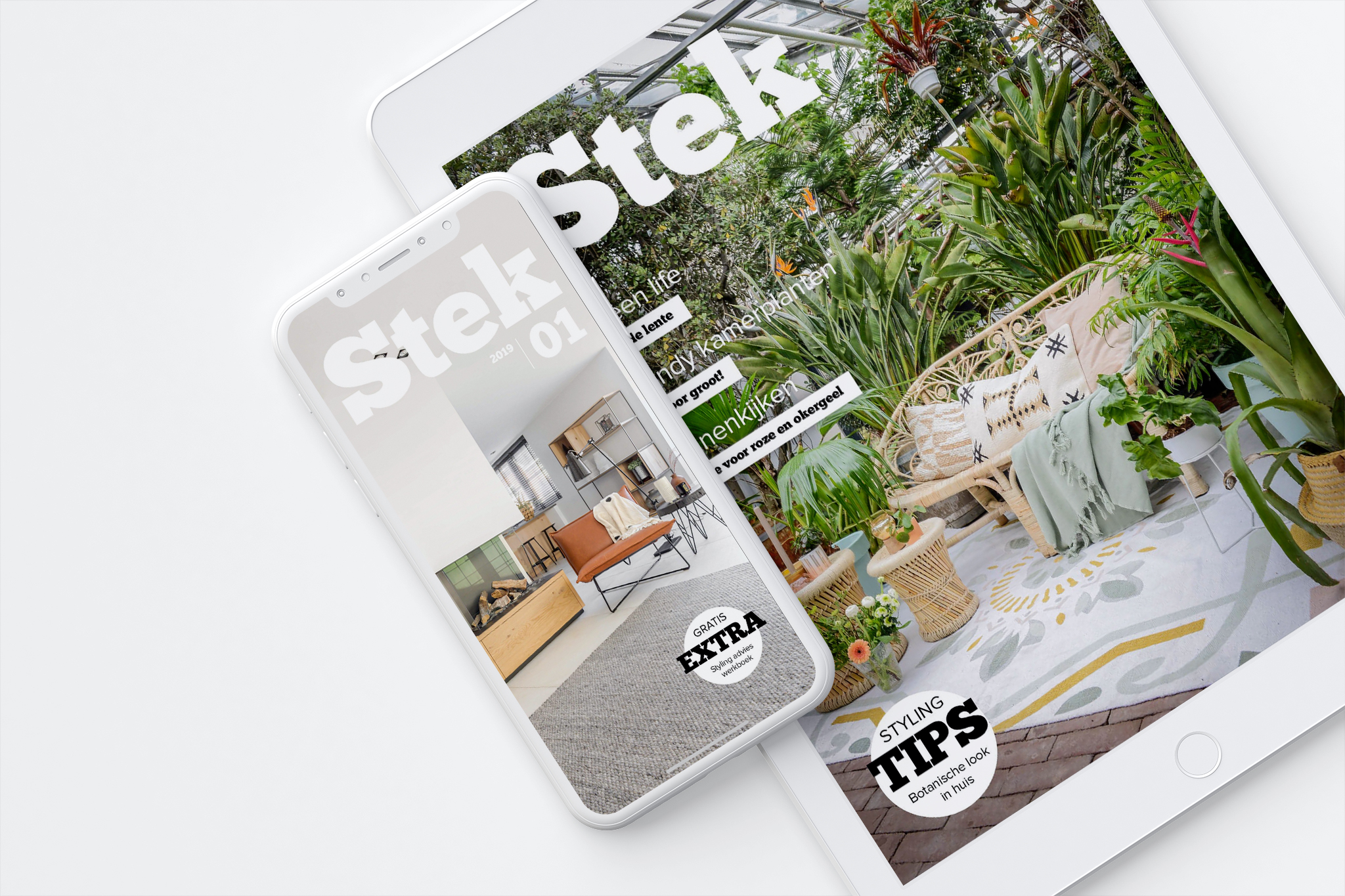vacatures Stek Magazine | accountmanager woonbranche | stage interieurmaazine